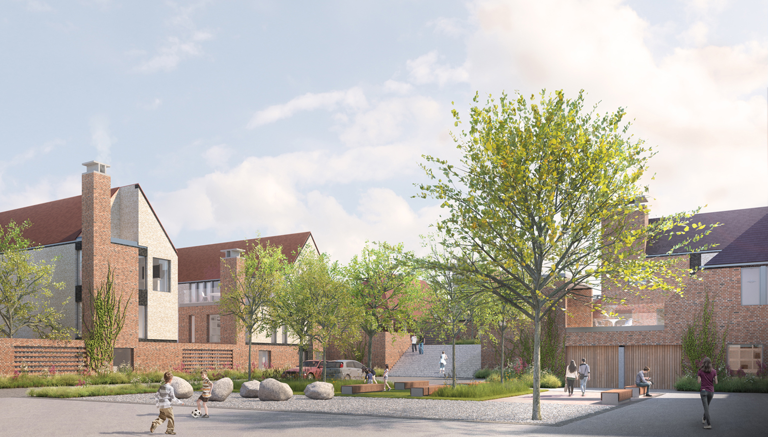 a 140-home 'garden city' development on the outskirts of Canterbury for detailed planning