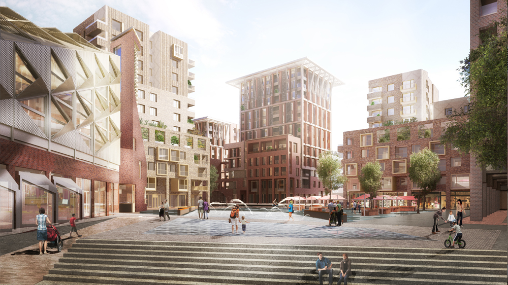 Planning consent for South Thamesmead Regeneration