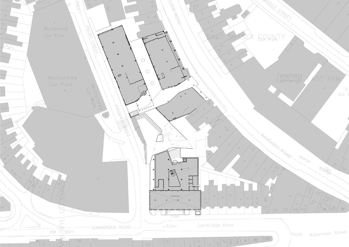 Priory Square Site Plan