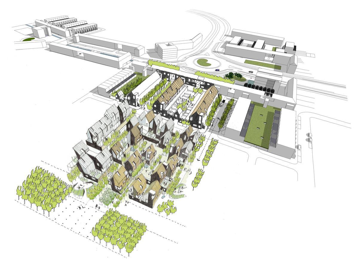 Abode At Great Kneighton Proctor Amp Matthews Architects