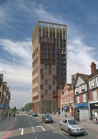 Proctor and Matthews Architects unveil Purley town centre redevelopment plans